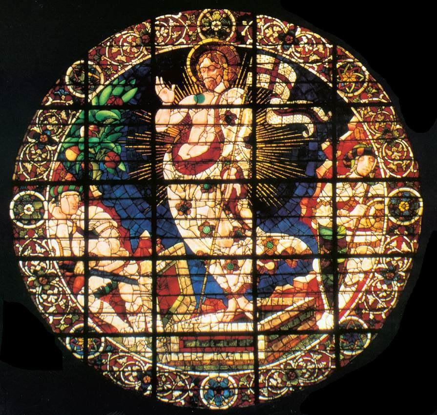 Paolo uccello, vetrata della resurrezione