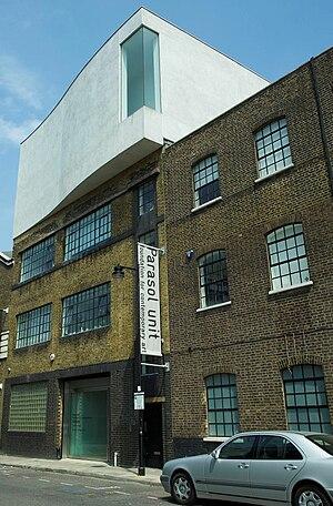 Parasol unit foundation for contemporary art - Image: Parasol unit exterior