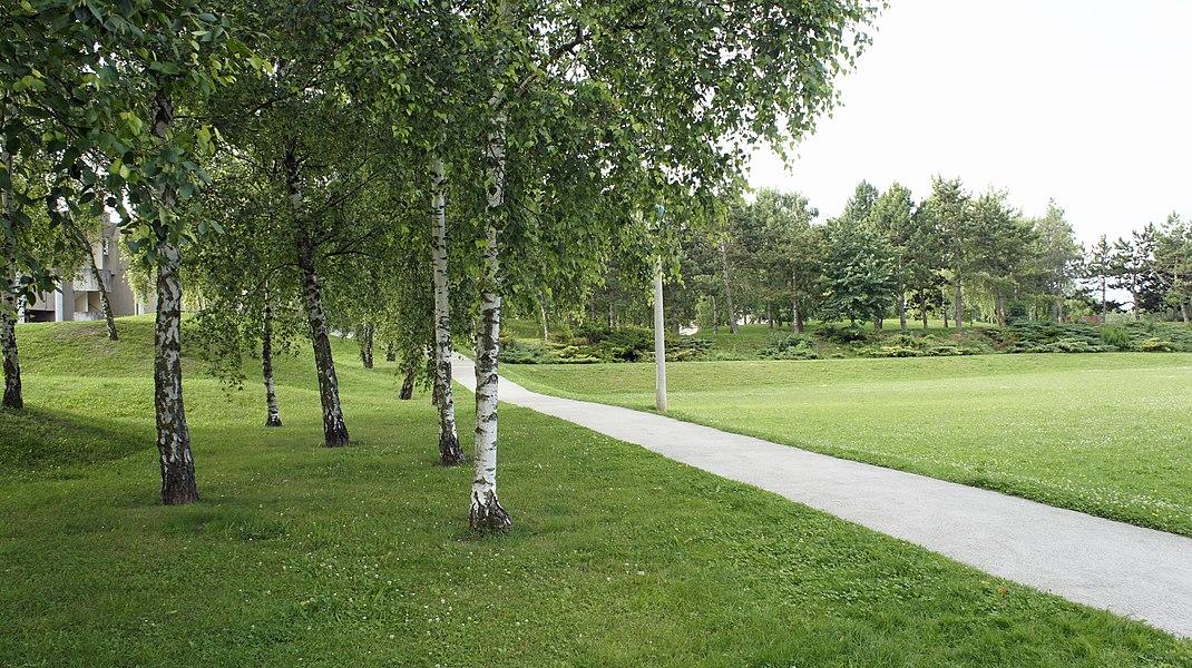 Parc Gilles Ferreira à Reims.