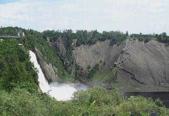 Boischatel, Quebec - Image: Parc de la Chute Montmorency a