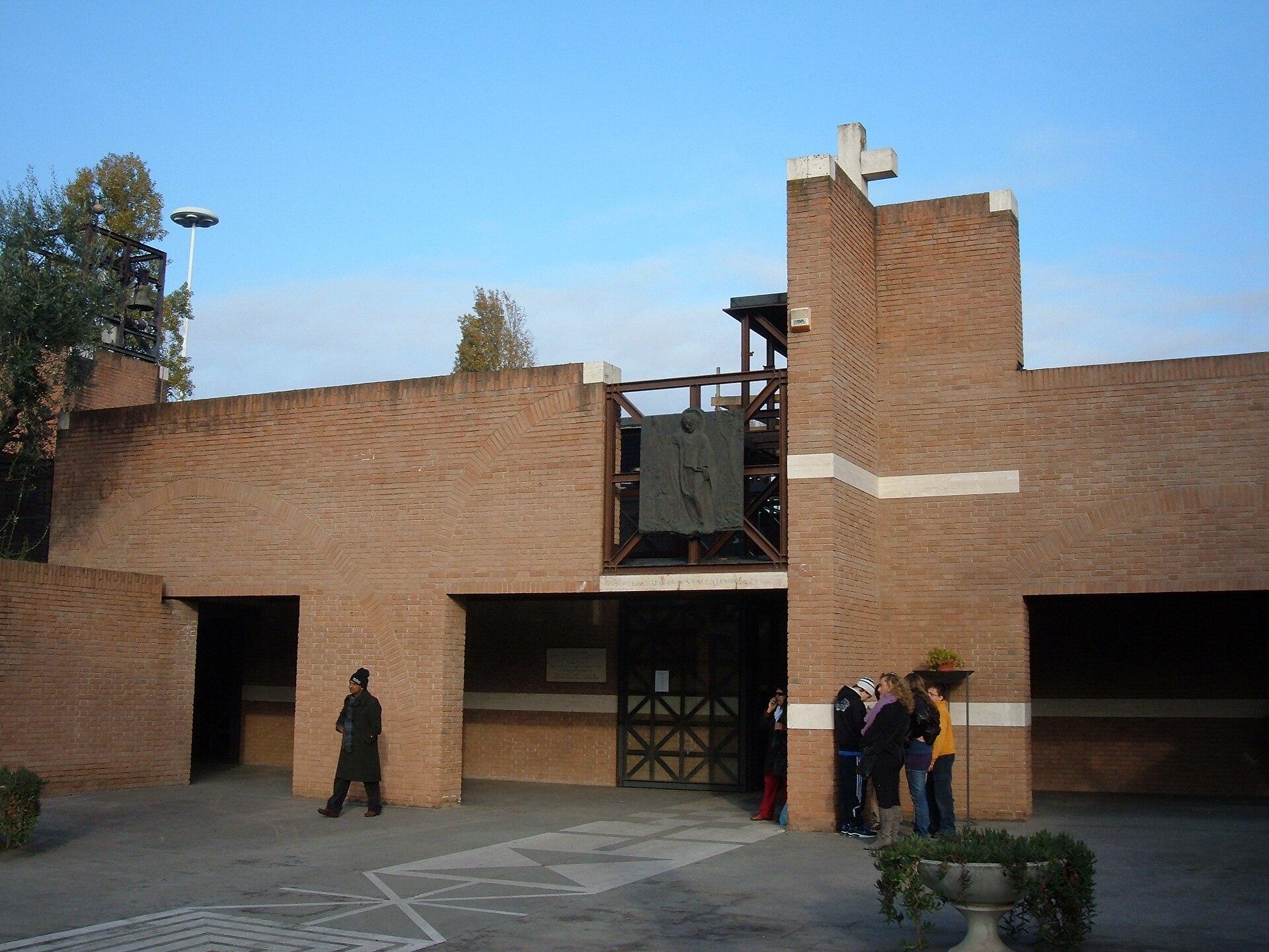 Chiesa di san valentino roma wikipedia for Villaggio olimpico
