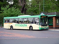 A bus used in the