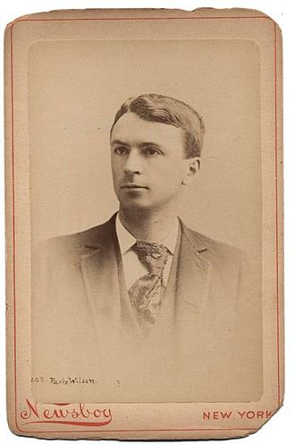 Parke Wilson - Image: Parke Wilson Newsboy 1895