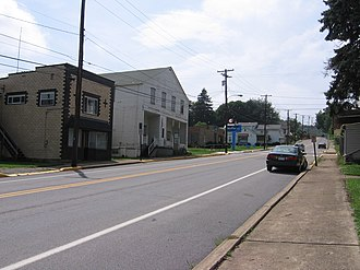 Parker, Pennsylvania - The Old Lawrenceburg section of Parker