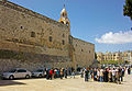 Parking lot of Church of the Nativity, Bethlehem.jpg