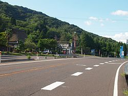 Pass of the Fukui‐Shiga border in National Route 8.jpg