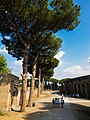 Path around Pompeii amphitheatre, 2016.jpg