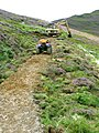 Path restoration below Causey Pike - geograph.org.uk - 257059.jpg
