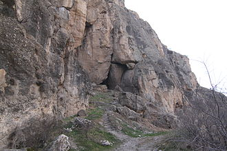 Areni-1 cave - Image: Pathway to the Areni 1 cave