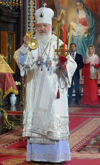 Patriarch Kirill of Moscow - Patriarch Kirill at Easter 2011