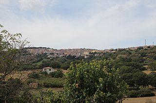 Pattada Comune in Sardinia, Italy
