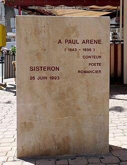 Paul Arène-Sisteron