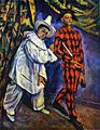 Paul Cézanne- Pierrot and Harlequin.JPG