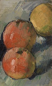 Paul Cézanne - Three Apples (Deux pommes et demie) - BF57 - Barnes Foundation.jpg