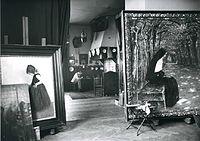 Paul Hoecker-Atelier Oberlangenau, um 1900.jpg