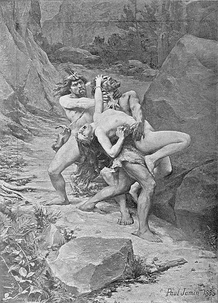 File:Paul Jamin - Le rapt - âge de la pierre.jpg