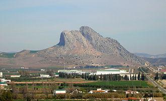 Antequera Dolmens Site - Image: Peña de los Enamorados Antequera