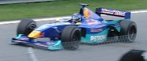 Pedro Diniz - Diniz at the 2000 Canadian Grand Prix