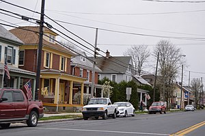 Robesonia, Pennsylvania - Houses on Penn Avenue