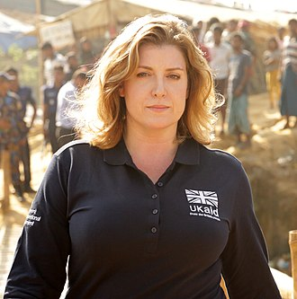 Penny Mordaunt - Mordaunt visiting the Kutupalong refugee camp in Bangladesh on 25 November 2017