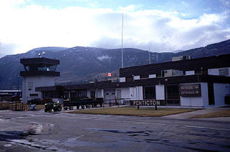 Penticton - The local and upcoming weather of the city is observed at the Penticton Regional Airport.