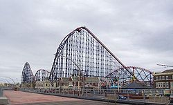 The Pepsi Max Big One at Pleasure Beach.