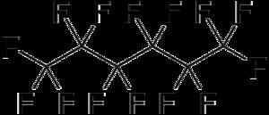 Perfluorohexane - Image: Perfluorohexane