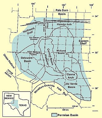 Permian Basin (North America) - The West Texas Permian Basin