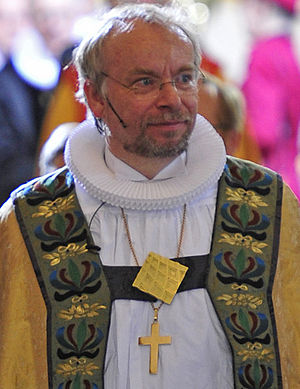 Church of Denmark - Peter Skov-Jakobsen, current Bishop of Copenhagen since 2009