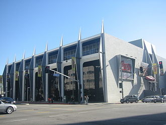 Petersen Automotive Museum - Museum prior to its 2015 renovation