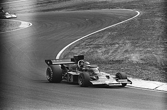 Ronnie Peterson - Peterson in the Lotus 72 at the 1973 Dutch Grand Prix.