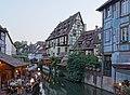 Petite Venise depuis le pont de la rue de Turenne (Colmar) (05).jpg