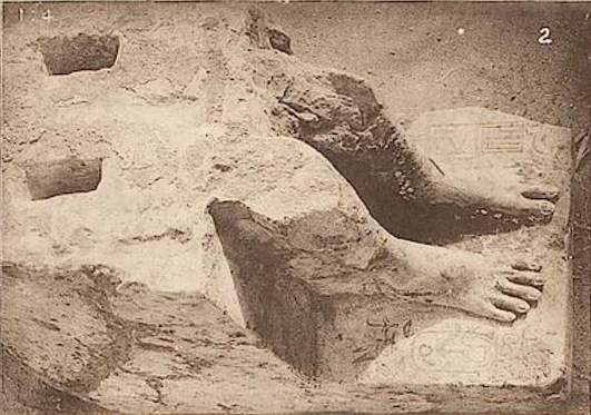 Petrie Statue of Djedkare from Abydos