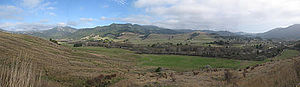 Petrolia, California - Image: Petrolia, California Panorama