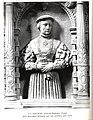 Pforzheim, Schloßkirche, Nördlicher Diagonalchor, Grabdenkmal für den markgräflichen Kanzler Martin Achtsynit genannt Amelius, Detail, Elisabeth geb. von Jestetten.jpg