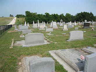 Phillipsburg, Texas - Image: Phillipsburg TX Cemetery