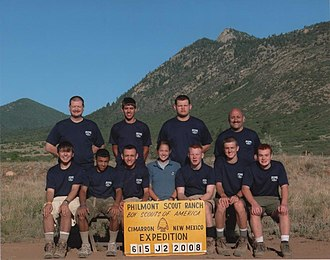 Philmont Scout Ranch - A crew ready for their trek