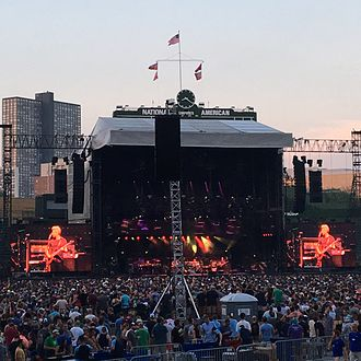Phish - Phish's 2016 Summer Tour included their first visit to Wrigley Field in Chicago