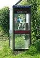 Phone Box and Bunny - geograph.org.uk - 458828.jpg