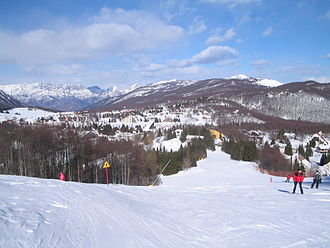 Aviano - A part of Piancavallo ski resort.