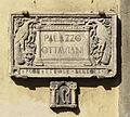 Piazza ottaviani, palazzo ottaviani, targa.JPG