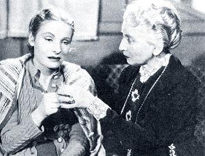 Emma Gramatica - Bianca Doria and  Emma Gramatica in Piccolo hotel (1939)