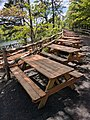 Picnic tables at Mohonk Mountain House.jpg