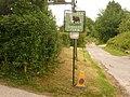 Piddletrenthide, Kiddles Farm sign - geograph.org.uk - 1343412.jpg