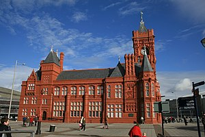 Pierhead Building - Image: Pierhead Building Cardiff Bay