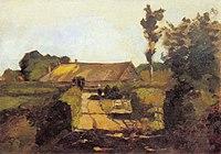 Piet Mondriaan - Farm building near Laren - A165 - Piet Mondrian, catalogue raisonné.jpg
