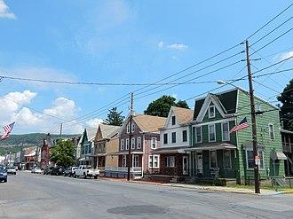 Port Carbon, Pennsylvania - Image: Pike St, Port Carbon PA 03