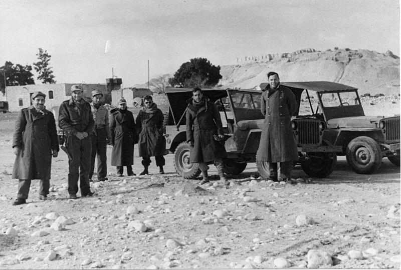 מבצע חורב - חיילי החטיבה לאחר כיבוש עוג'ה אל חפיר