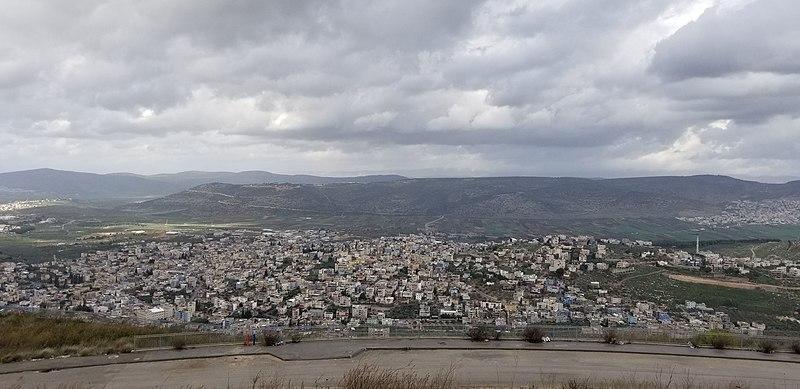 הר יונה נוף הגליל