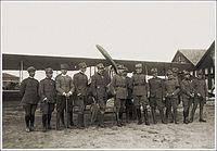 Pilots Italian 91st Fighter Squadron World War I.jpg